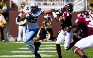 NCAA FOOTBALL: OCT 05 North Carolina at Virginia Tech